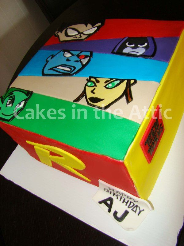 27 Best Teen Titans Birthday Party Ideas, Decorations, And -9275