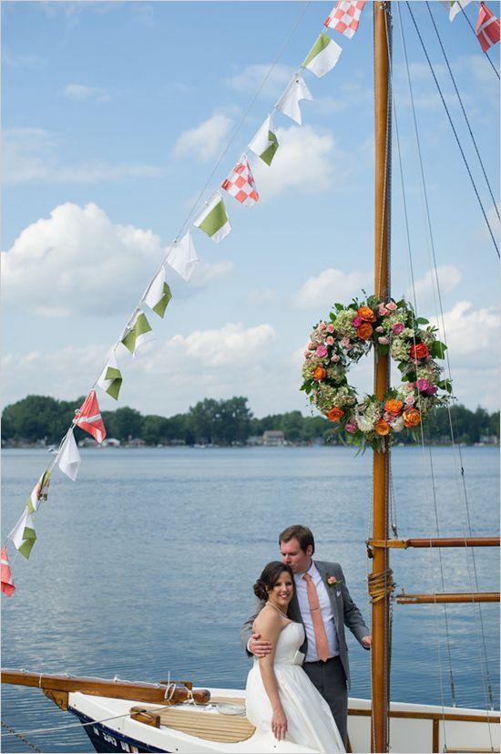 47 best Boat wedding images on Pinterest Boat wedding Nautical