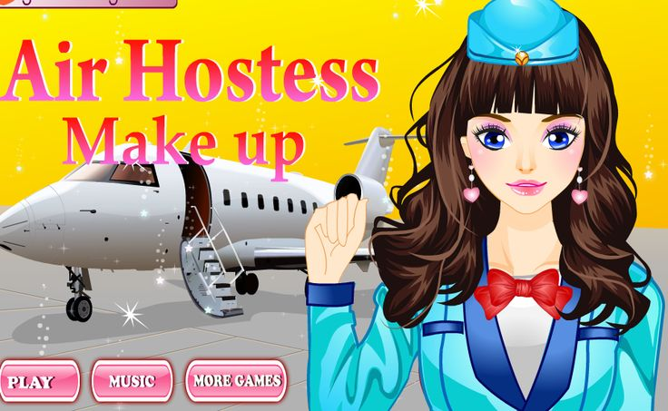 Do you like #airhostess ? If yes, you should play this #game Air Hostess Make Up