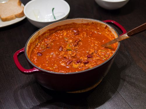 Home made chilli