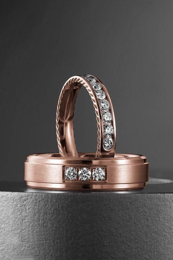 18 Top Popular Mens Wedding Bands In 2020 Black Diamond Wedding
