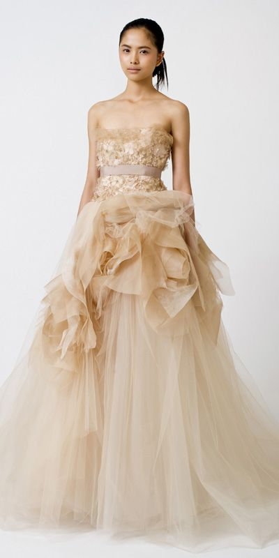 100 best images about Vera Wang on Pinterest | Vera wang, Gowns ...