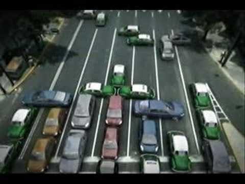 Funny Toyota Ad - Mexico City Traffic