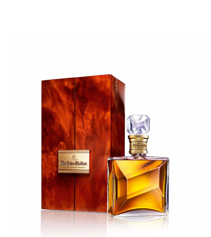 Pack and bottle of John Walker & Sons The John Walker whisky