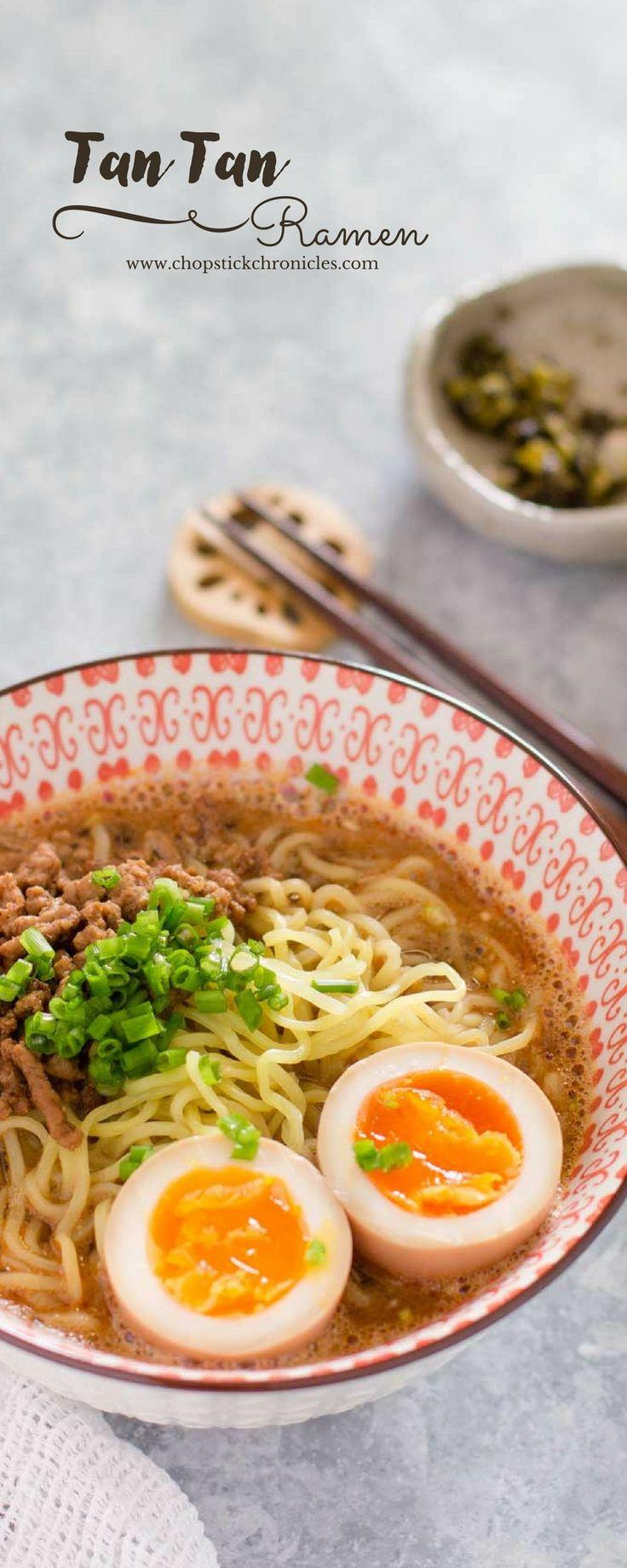 Blue apron wonton noodles - Tan Tan Ramen