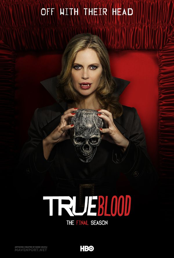 True Blood Fan Drawings | Behance made these absolutely awesome True Blood Posters for the final ...