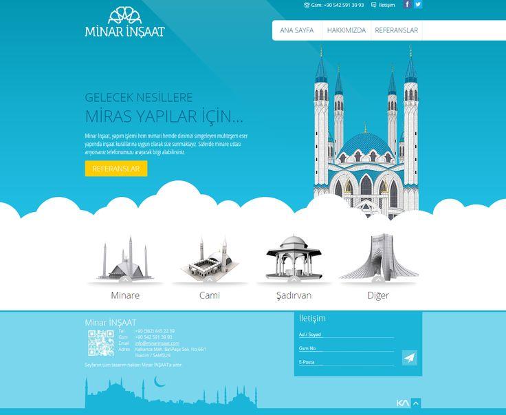 Minar İnşaat   Web Design