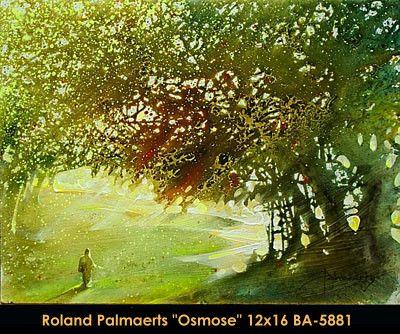 Original painting mixed media on canevas by Roland Palmaerts#Palmaerts #art #CanadianArt #originalartwork #mixtmedia #quebecartist #walk #park #contemporaryart #fineart #balcondart #multiartltee