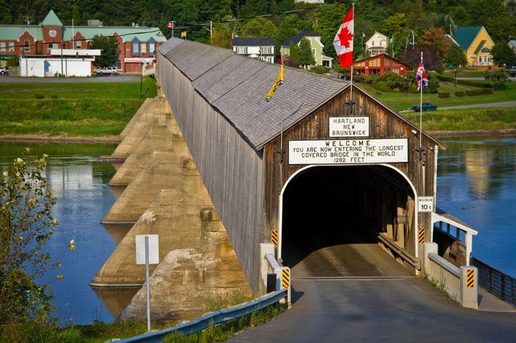 17 Things That Only Happen On Canadian Roadtrips | #7: Walking through the world's longest covered bridge in New Brunswick. | Buzzfeed