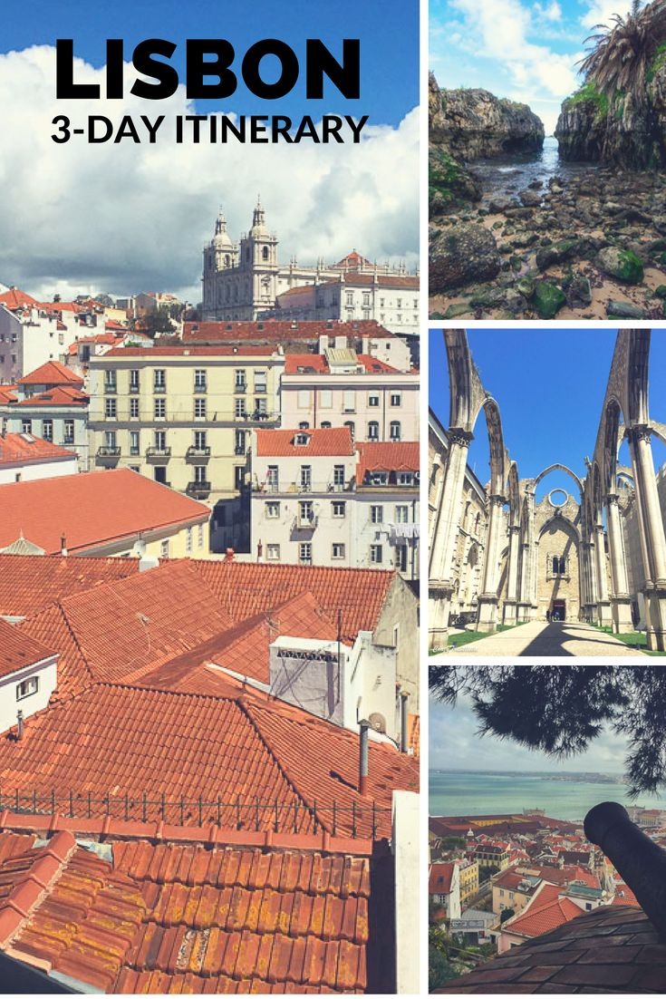 3-day itinerary highlighting what to do in Lisbon, including amazing day trips!