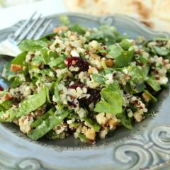 This Spinach and Quinoa Salad with Toasted Cashews and Dried Cranberries makes a fabulous post-workout meal, and is one of my favorite quinoa recipes!