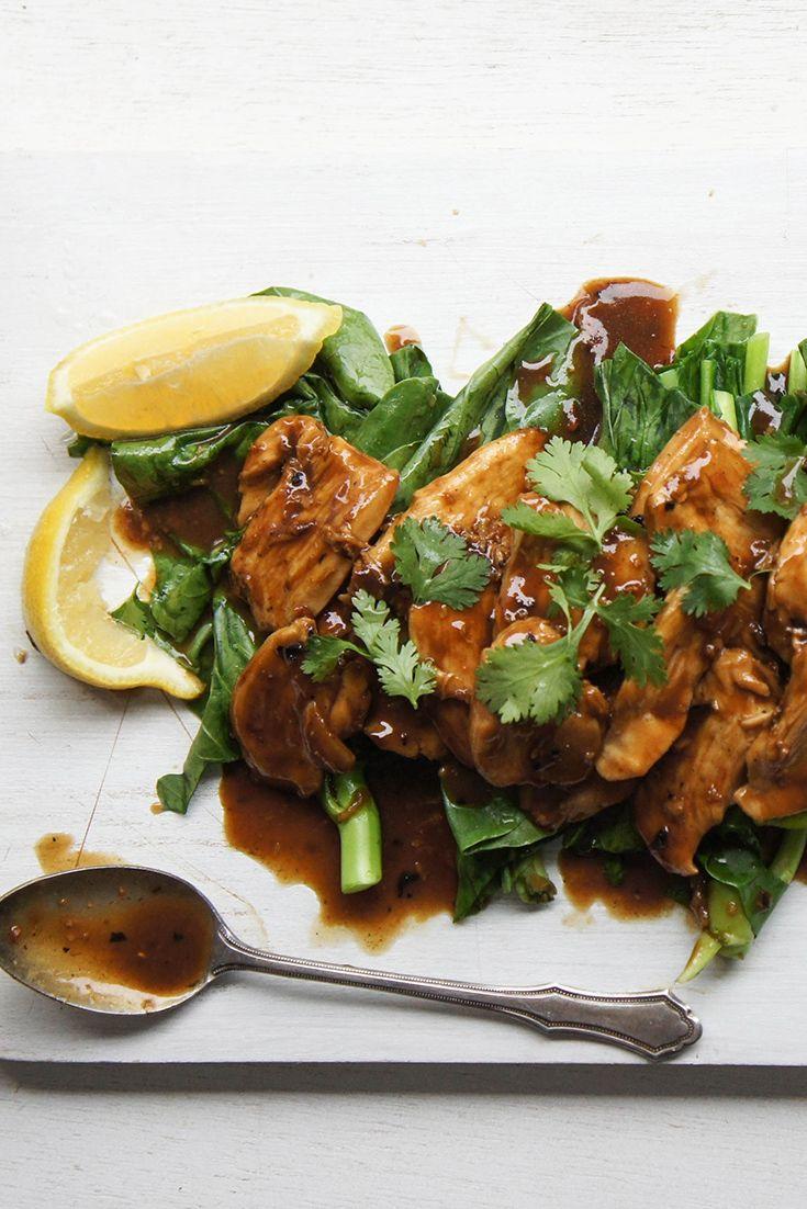 Delicious Lemon Chicken by blackwood_5.  Mmmmm lemon....