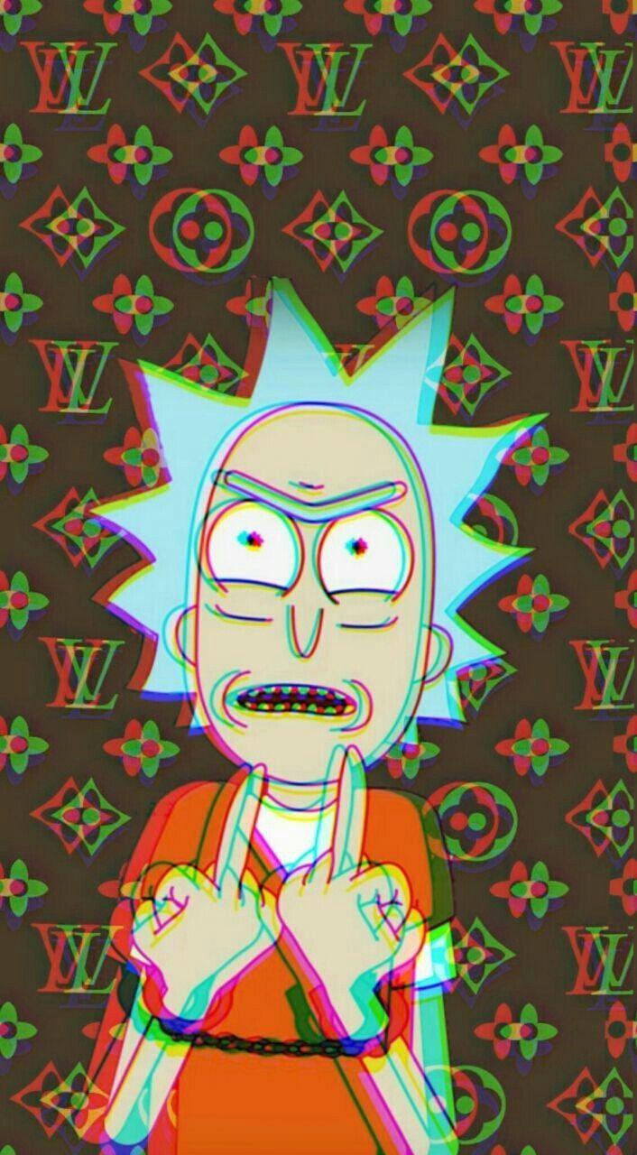 Rick And Morty Iphone Wallpaper Tumblr Regarding Rick And Morty Rick Wallpapers In 2020 Iphone Wallpaper Rick And Morty Rick And Morty Poster Cartoon Wallpaper