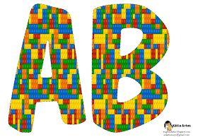Alfabeto de Lego.