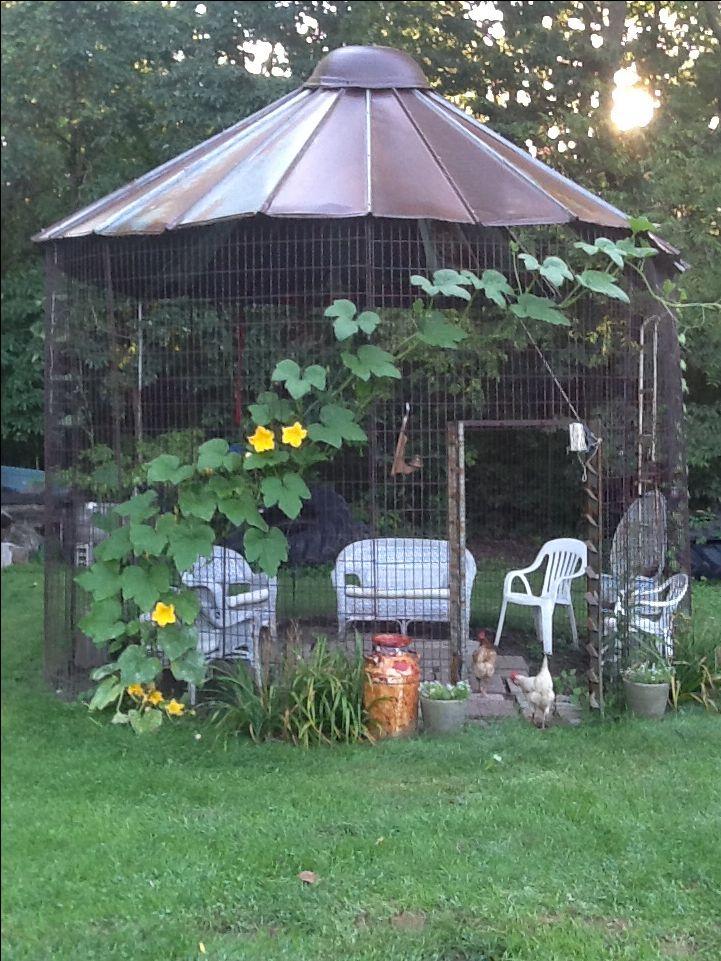 Corn Crib Gazebo Outside Our County Home Pinterest