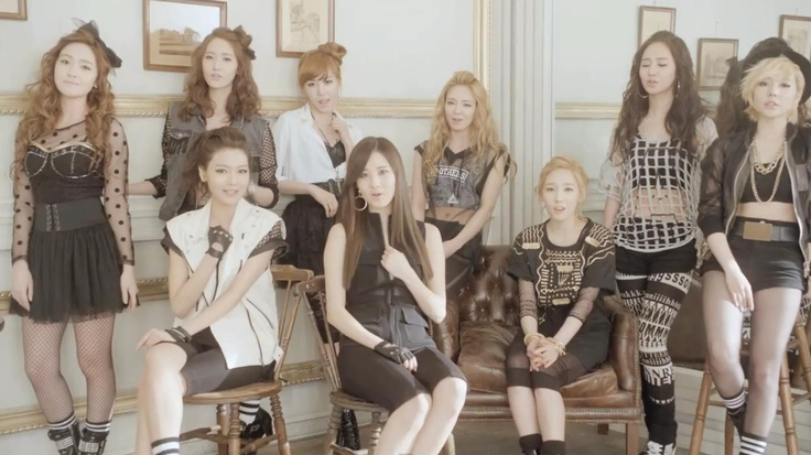 I love Girls' Generation