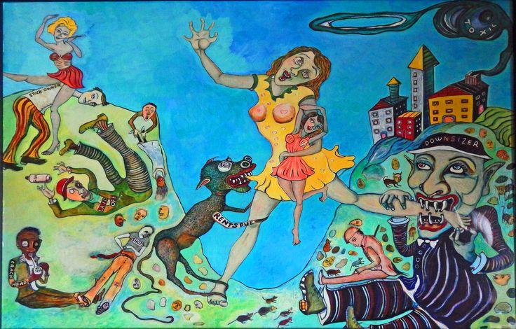 DOWNSIZER by Jane In Vain Winkelman