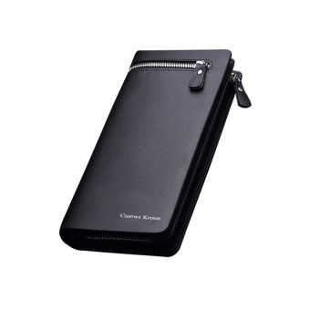 Buy Curewe Kerien New Business Men Long Zipper Wallet (Black) online at Lazada Philippines. Discount prices and promotional sale on all Wallets. Free Shipping.