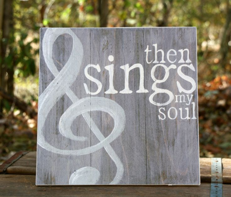 Then Sings My Soul Sign