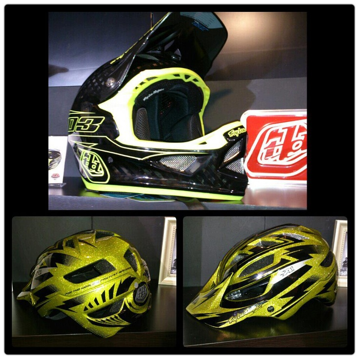 New Troy Lee D3 colourway and yes that's a XC helmet you see! #troylee #mtbhelmet #mtb #llb
