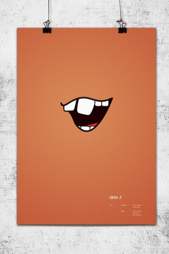 DESIGN FETISH: Minimalistic Pixar Poster Series (for Jeff)