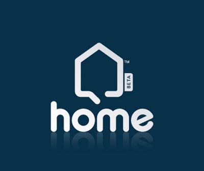 The home symbol was used effectively with the text to provide a playful aesthetic. The design incorporates a great use of bold line that is rounded to again reflect the brands personality. The reflection of the text provides a grounding effect, balancing out the space. This design would benefit from using a different colour to provide a more playful aesthetic such as green or perhaps a lighter blue.