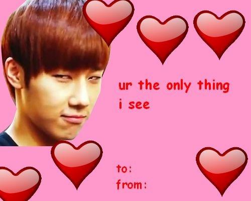Valentine's day - Sunggyu's version :D