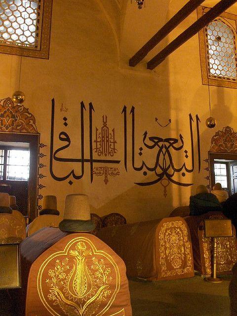 Mevlana Mausoleum - Konya, Turkey http://www.yourcruisesource.com/two_chefs_culinary_cruise_-_istanbul_to_athens_greek_isles_cruise.htm