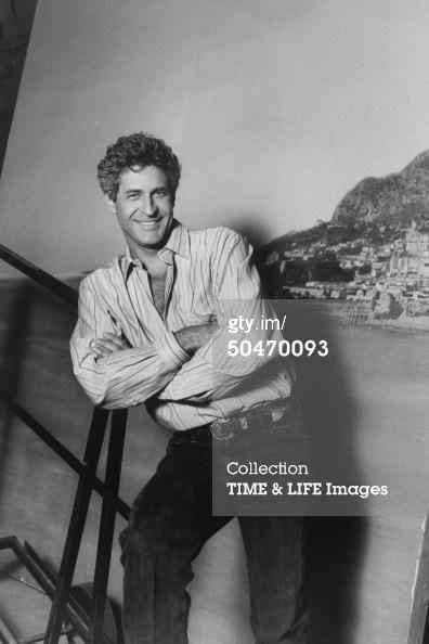 Terence Ford at Riviera TV-series shot (1992).