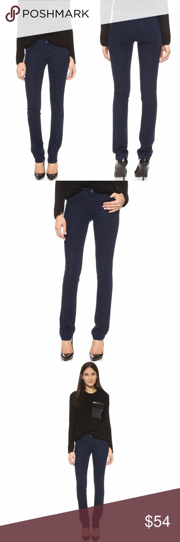 "New DL1961 Coco Curvy Jeans 247320 DL1961 Coco Curvy Womens Straight Jeans - Inkwell - Size 25       Cotton blend  New with tags.    MEASUREMENTS Waist:  13"" flat across Rise:  7.5"" Inseam: 34""  All items I sell are 100% authentic! Buy with Confidence. DL1961 Jeans Straight Leg"