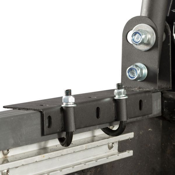 JHook bolts used to install Apex universal truck rack to