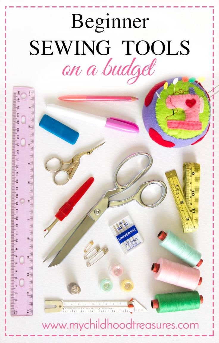 Beginners sewing kit on a budget best supplies