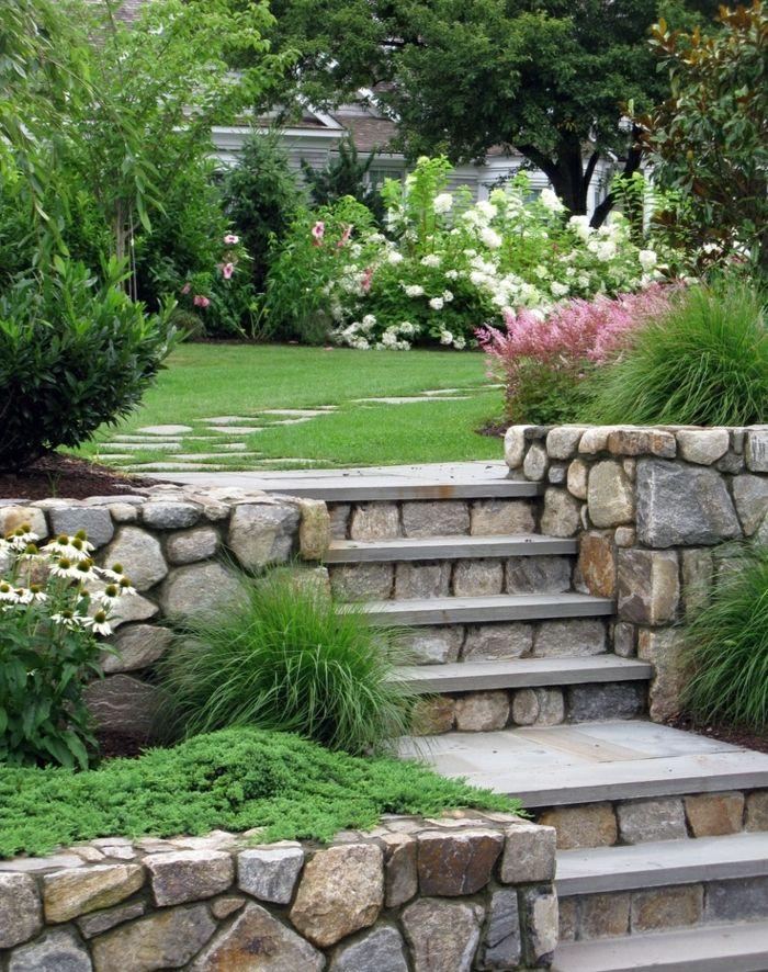 1001 Ideas Sobre Como Decorar Un Jardin Pequeno Jardines Rusticos Jardines Jardineria De Ladera