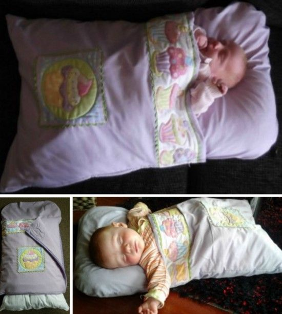 How To Make A Pillowcase Baby Sleeping Bag | The WHOot