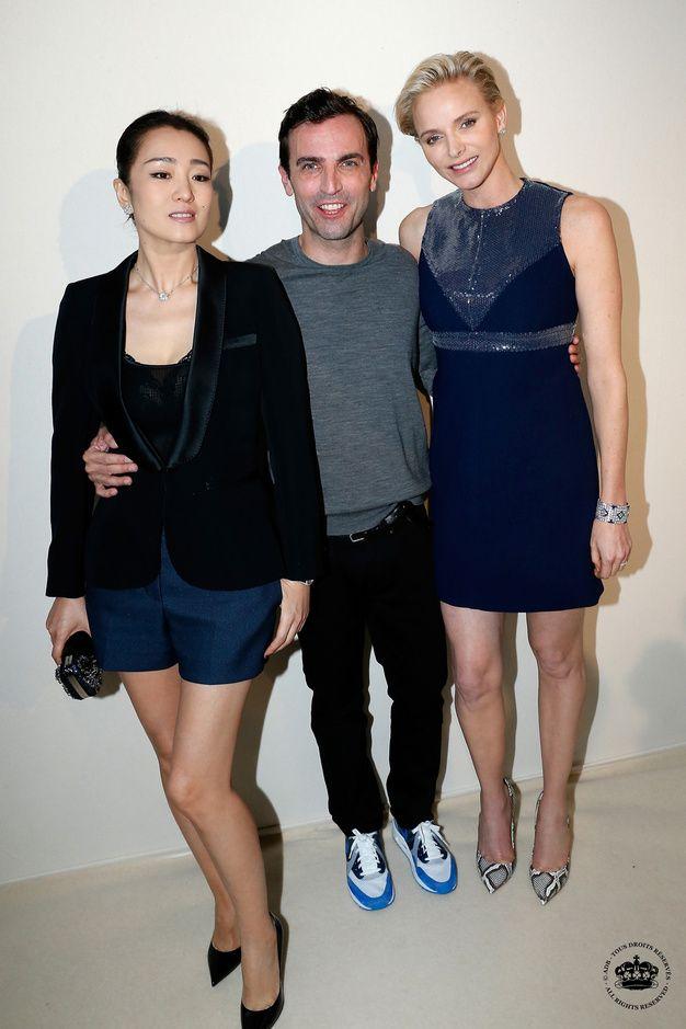 Gong Li, Nicolas Ghesquiere et Charlene de Monaco
