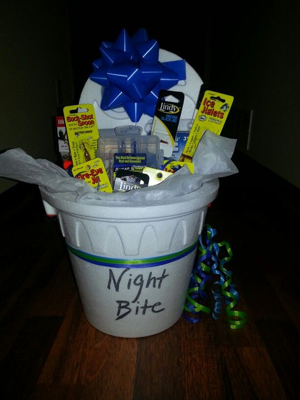 Gift basket for your fisherman gift ideas for others for Fishing gift basket