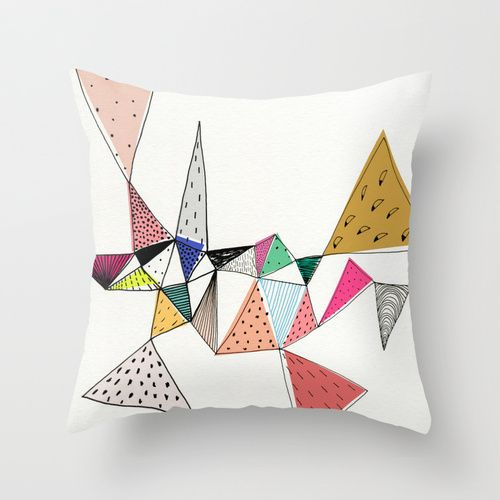 Amalgam Throw Pillow by Georgiana Paraschiv | Society6