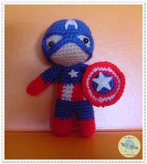 Buenas, hoy está con nosotros ni más ni menos que El Capitán América. Este pequeño pero gran Súper héroe mide 12 cm. y se puede usar co...
