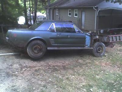 1966-Mustang-parts-car
