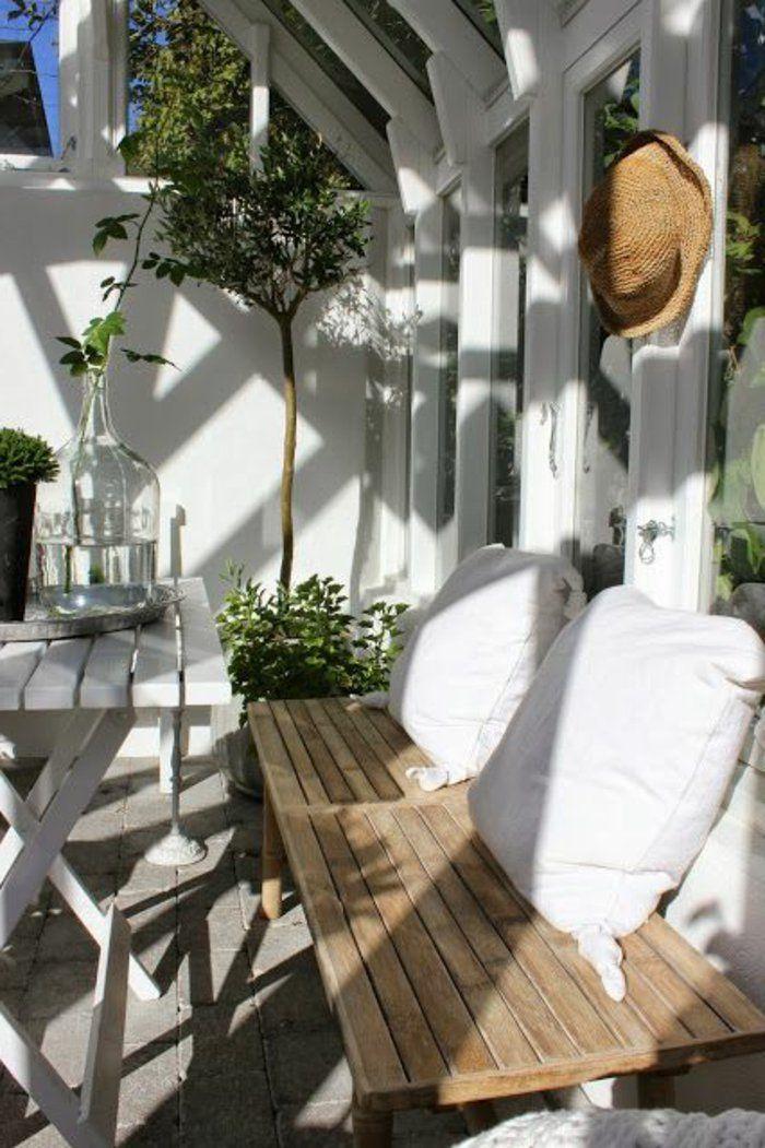 amenagement terrasse exterieur et les meubles d'extérieur moderne