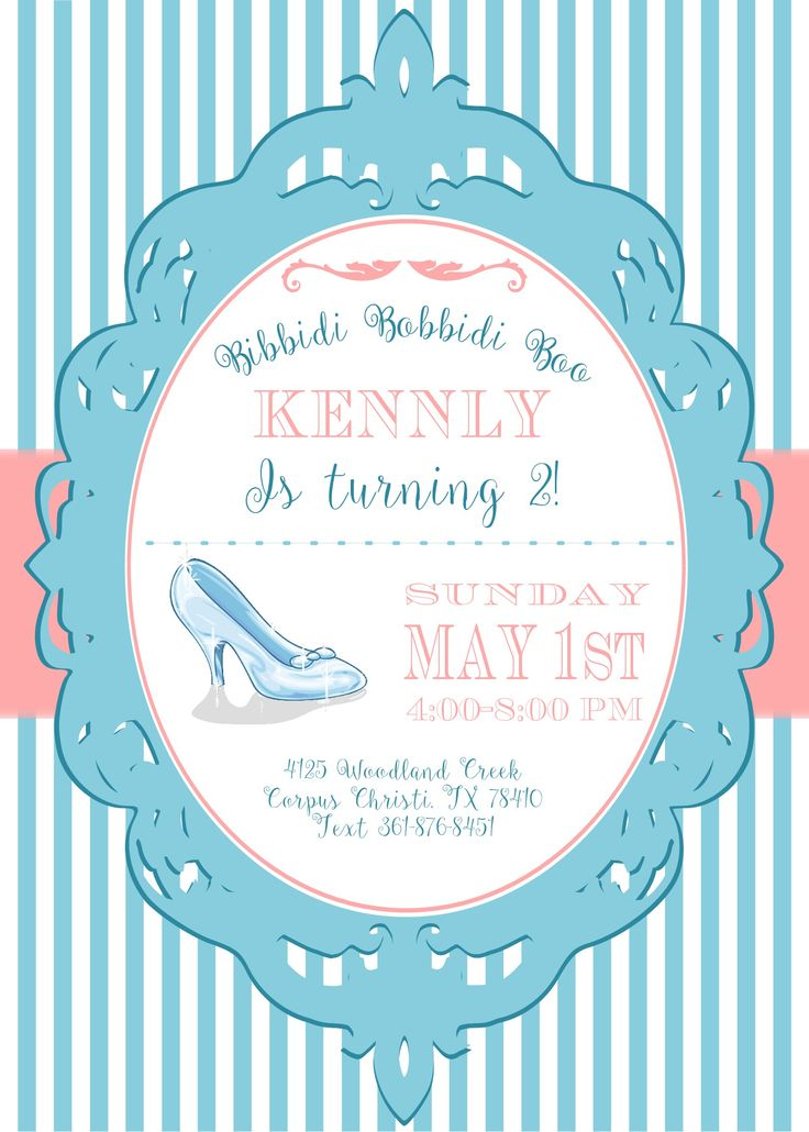 76 best princess birthday invitations images on pinterest, Party invitations