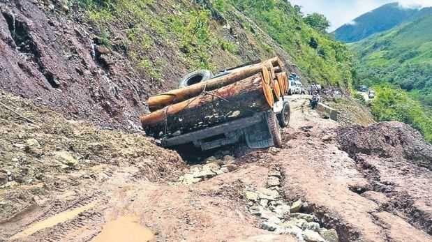 Lluvias en el valle del Colca causan estragos en carretera