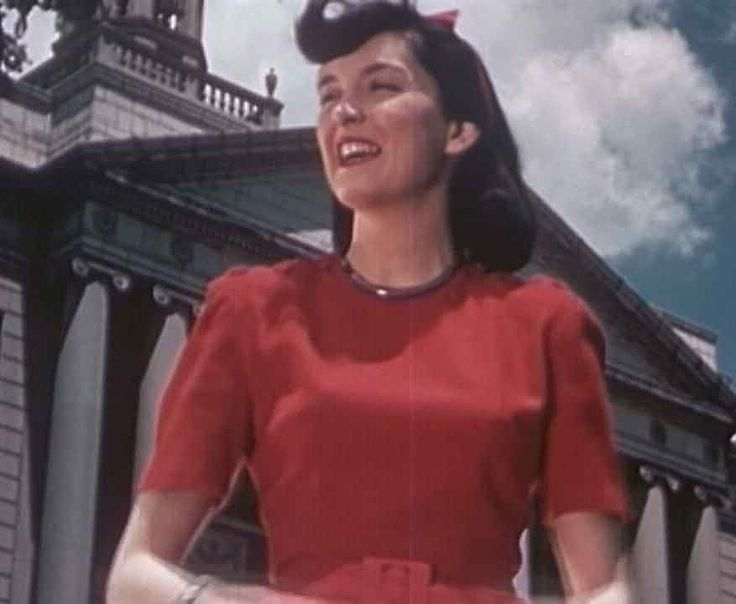 1940s college girls fashion