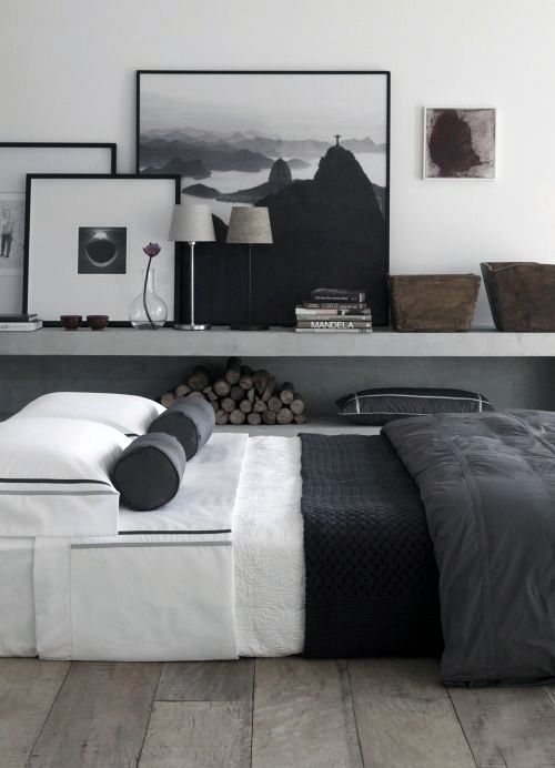 50 Simple and Minimalist Bedroom Ideas. Bedroom Decorating IdeasMen's ...