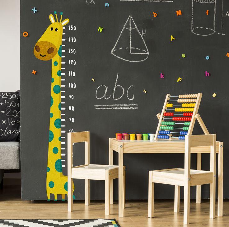 Gaston Le Girafon, pour ne pas perdre un centimètre de son enfance. #papierpeint #original #whitebed #confy #luxury #modern #bedroom #bathroom #Paris #Appartment #DIY #Renovation #Artisanal #Exclusif #Livingroom #idea #design #architecture #la #customize #wall #blog #décor #pattern #home #kids #enfant #kidsroom #rabbit #sticker #wallsticker #trendy #luminaire #tapis #enfance #nurserie #babyroom #renovation #fresque #autocollant #mur
