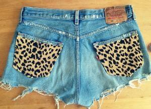 !!!!: Denim Jeans, Denim Cut, Cheetahs Shorts, Animal Prints, Leopards Prints, Cheetahs Pockets, Summer Shorts, Cut Off, Cheetahs Prints