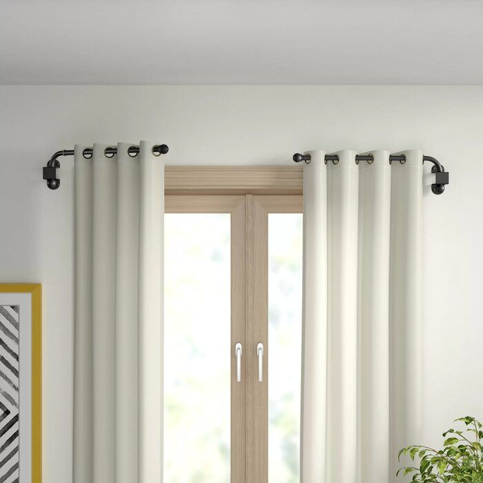 Verdell Curtain Swing Arm Curtains Curtain Rod Hardware Chic