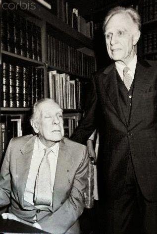 """Borges todo el año: Adolfo Bioy Casares: """"Borges"""" (Sábado 14 de junio de 1986) Photo Alberto Casares-Javier Moreno-dpa Corbis"""