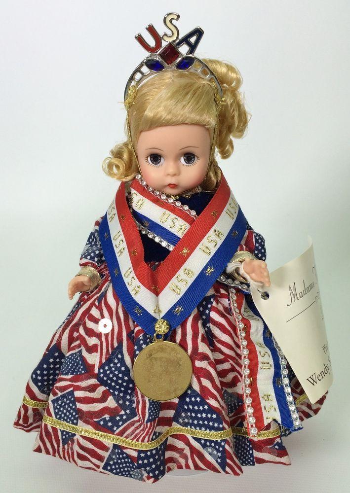 MADAME ALEXANDER WENDY SALUTES THE OLYMPIANS USED #MadameAlexander #DollswithClothingAccessories