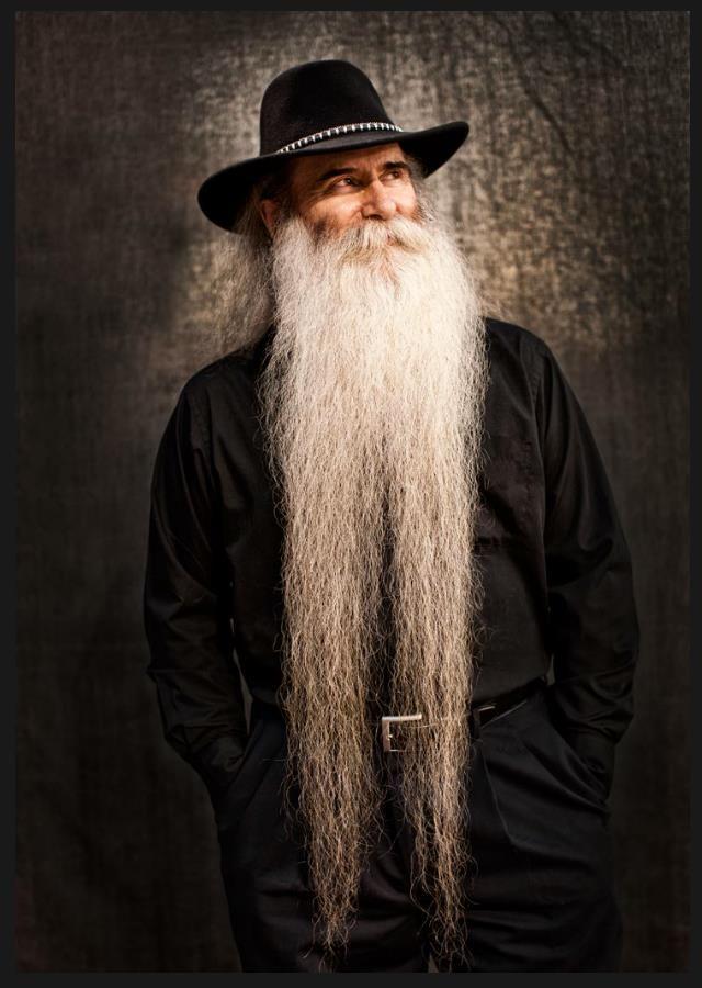 John Burgess - beautiful very long white beard and mustache beards bearded man men mens' style natural length terminal epic bearding wizard level #beardsforever